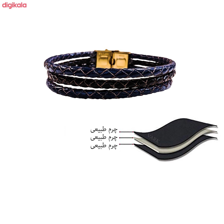 دستبند چرم وارک مدل دایان کد rb352 main 1 7