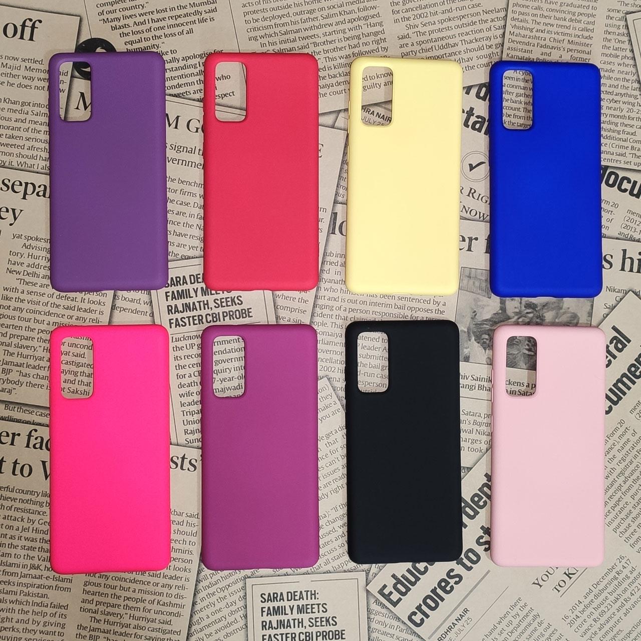 کاور مدل SLCN مناسب برای گوشی موبایل سامسونگ Galaxy S20 FE