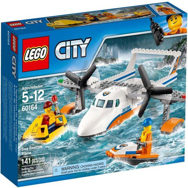 لگو سری City مدل 60164 Sea Rescue Plane