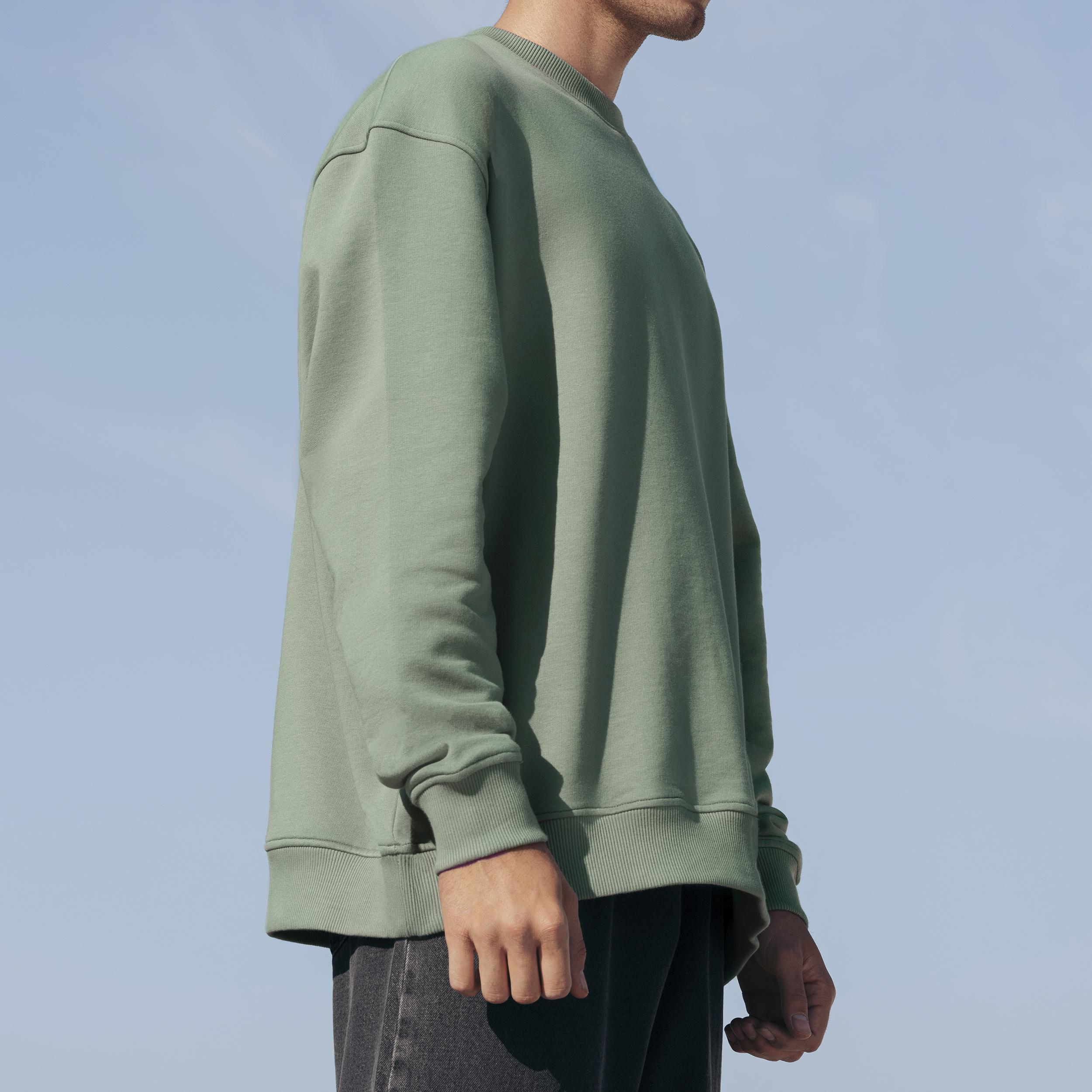 سویشرت مردانه کوی مدل 402 رنگ سبز -  - 3