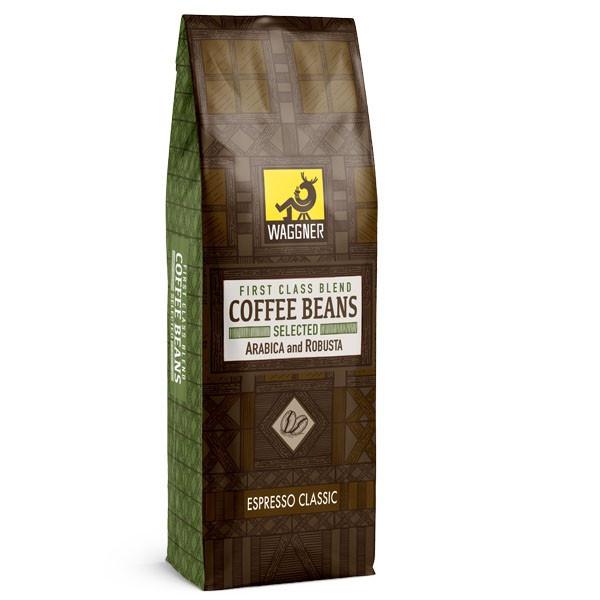 دانه قهوه اسپرسو کلاسیک واگنر - 250 گرم