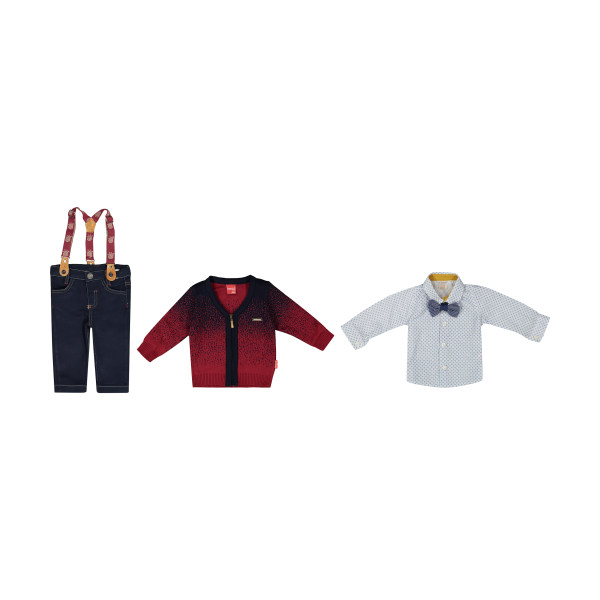 ست 3 تکه لباس پسرانه ببوش مدل 2141126-70