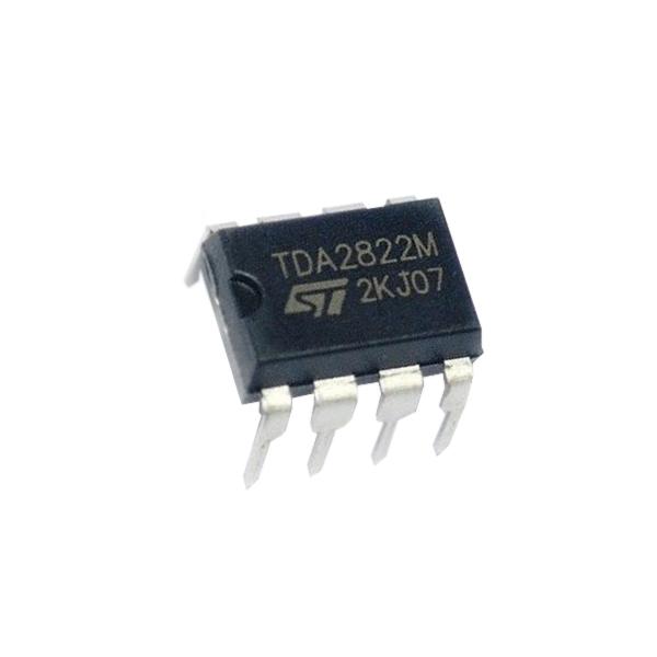 آی سی آمپلی فایر اس تی مایکروالکترونیکس مدل TDA2822M بسته 3 عددی