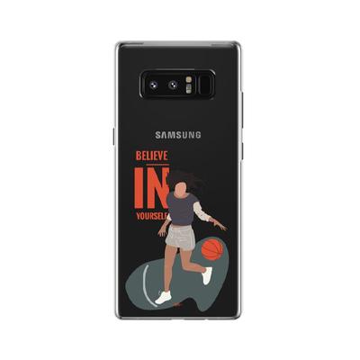 کاور وینا مدل  Basketball Girl مناسب برای گوشی موبایل سامسونگ Galaxy Note 8