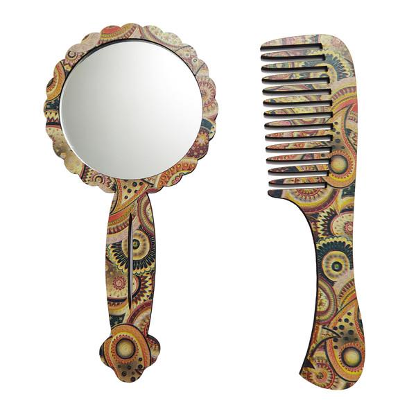 ست آینه و شانه مو کد GNDM70