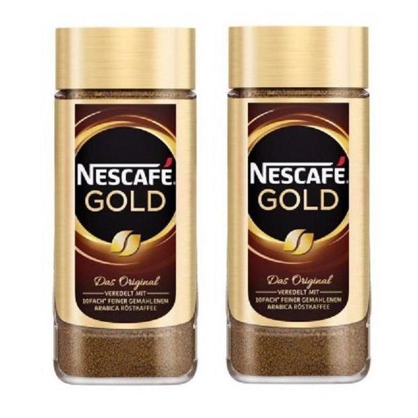 قهوه فوری نسکافه گلد 200 گرم بسته 2 عددی