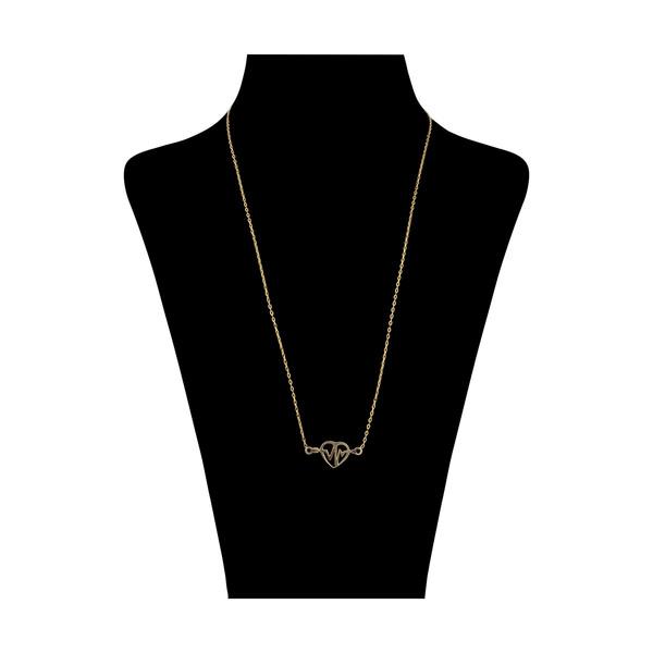گردنبند طلا 18 عیار زنانه مدیسا مدل N1028