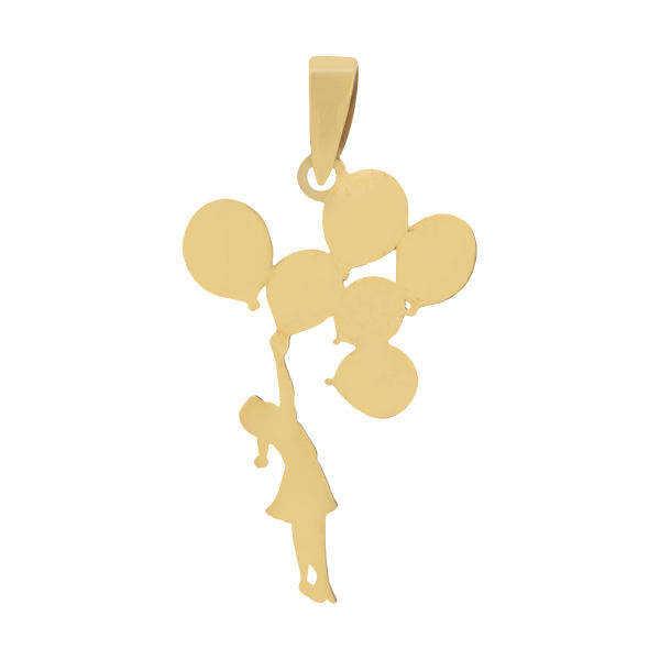 آویز طلا 18 عیار زنانه گالری مرجان مدل 0947
