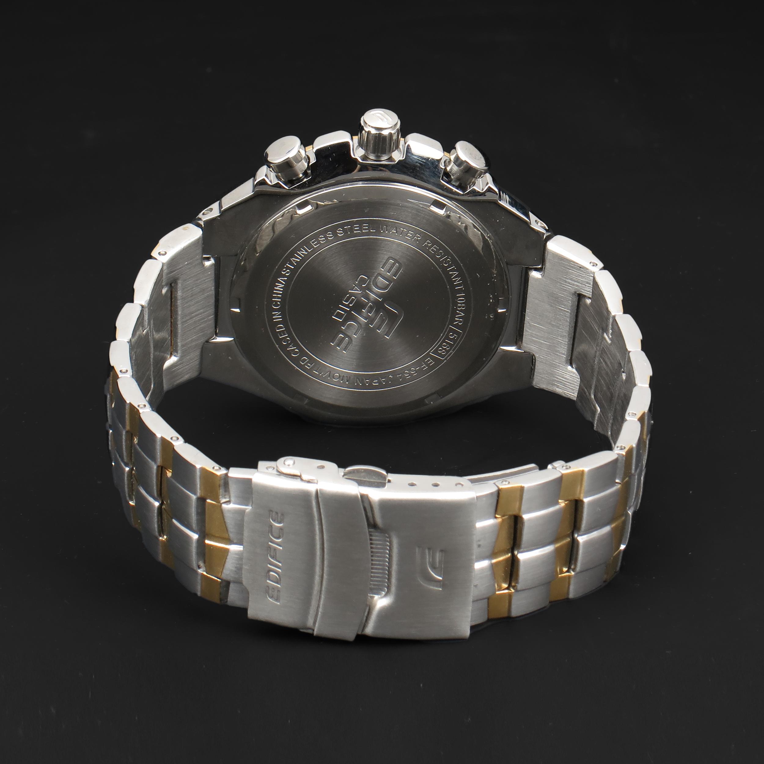 ساعت مچی عقربهای مردانه کاسیو مدل EFR536