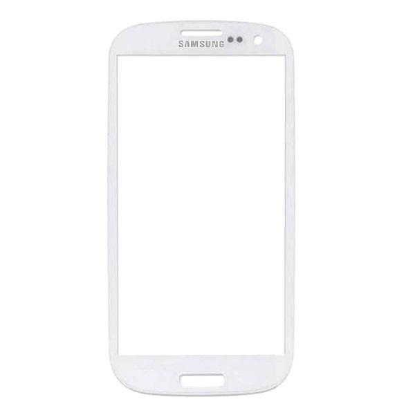 شیشه تاچ گوشی مدل I9300-W-O مناسب برای گوشی موبایل سامسونگ Galaxy S3                     غیر اصل