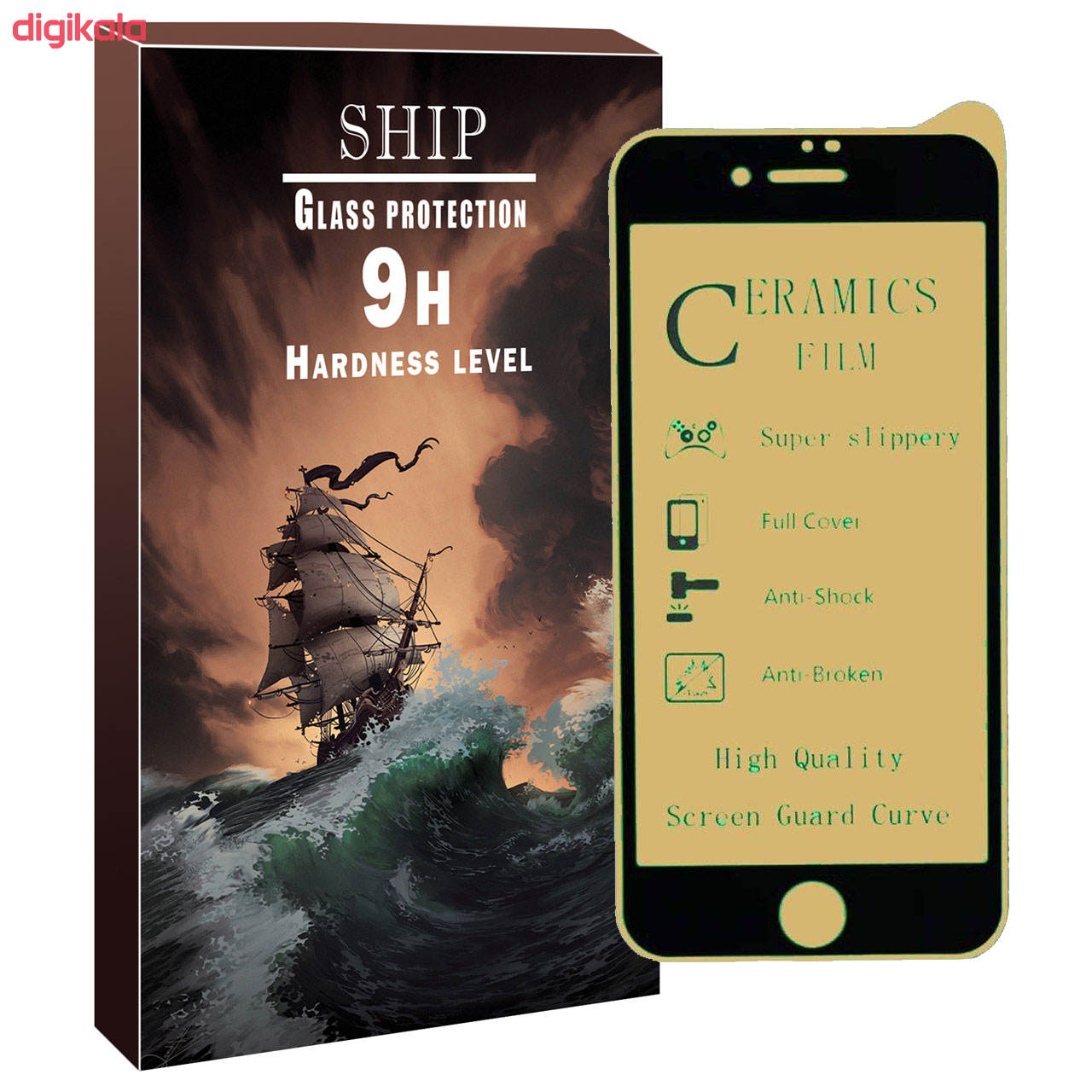 محافظ صفحه نمایش مات شیپ مدل shmcrm-01 مناسب برای گوشی موبایل اپل Iphone 6/6s main 1 1