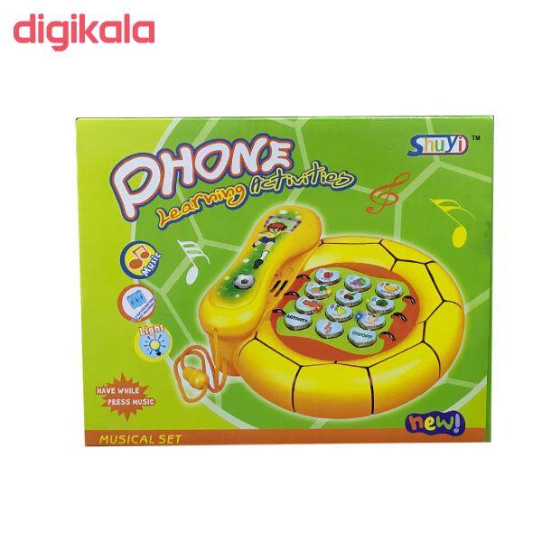 بازی آموزشی انگلیسی مدل تلفن مدل 8080 main 1 1