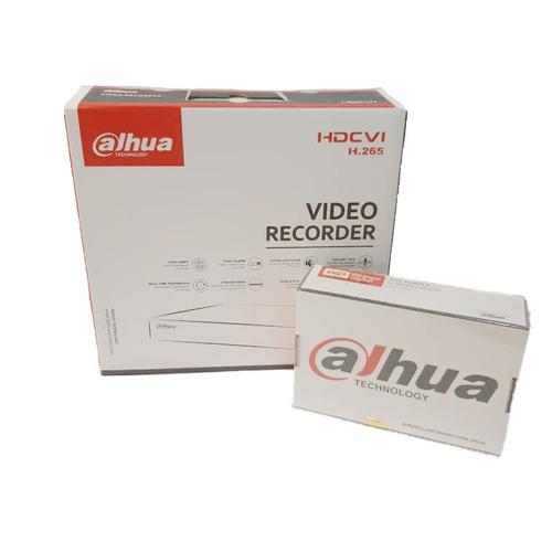 ضبط کننده ی ویدئویی داهوا مدل XVR5104HS-X به همراه هارد 2 ترابایت