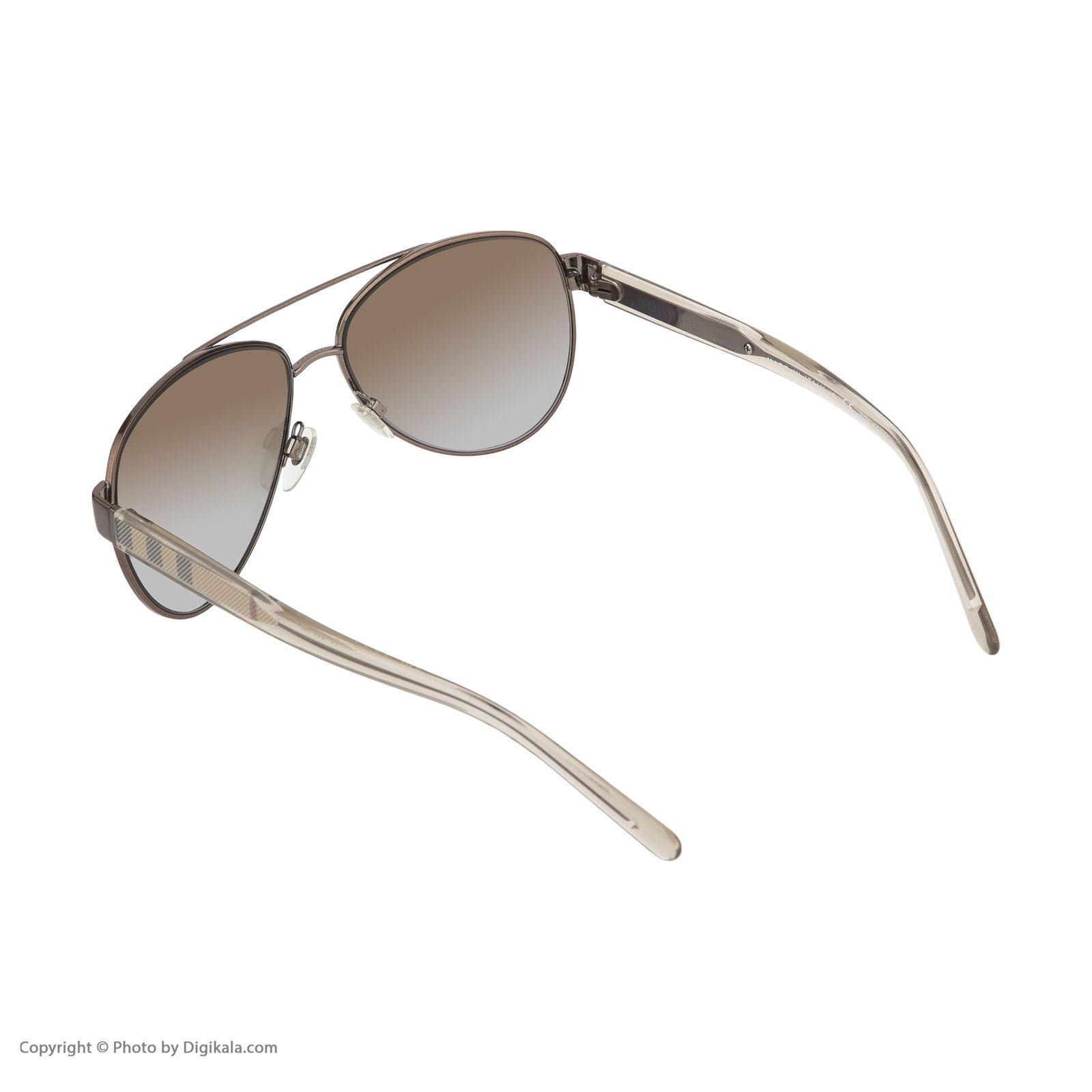 عینک آفتابی زنانه بربری مدل BE 3084S 1212T5 57 -  - 5