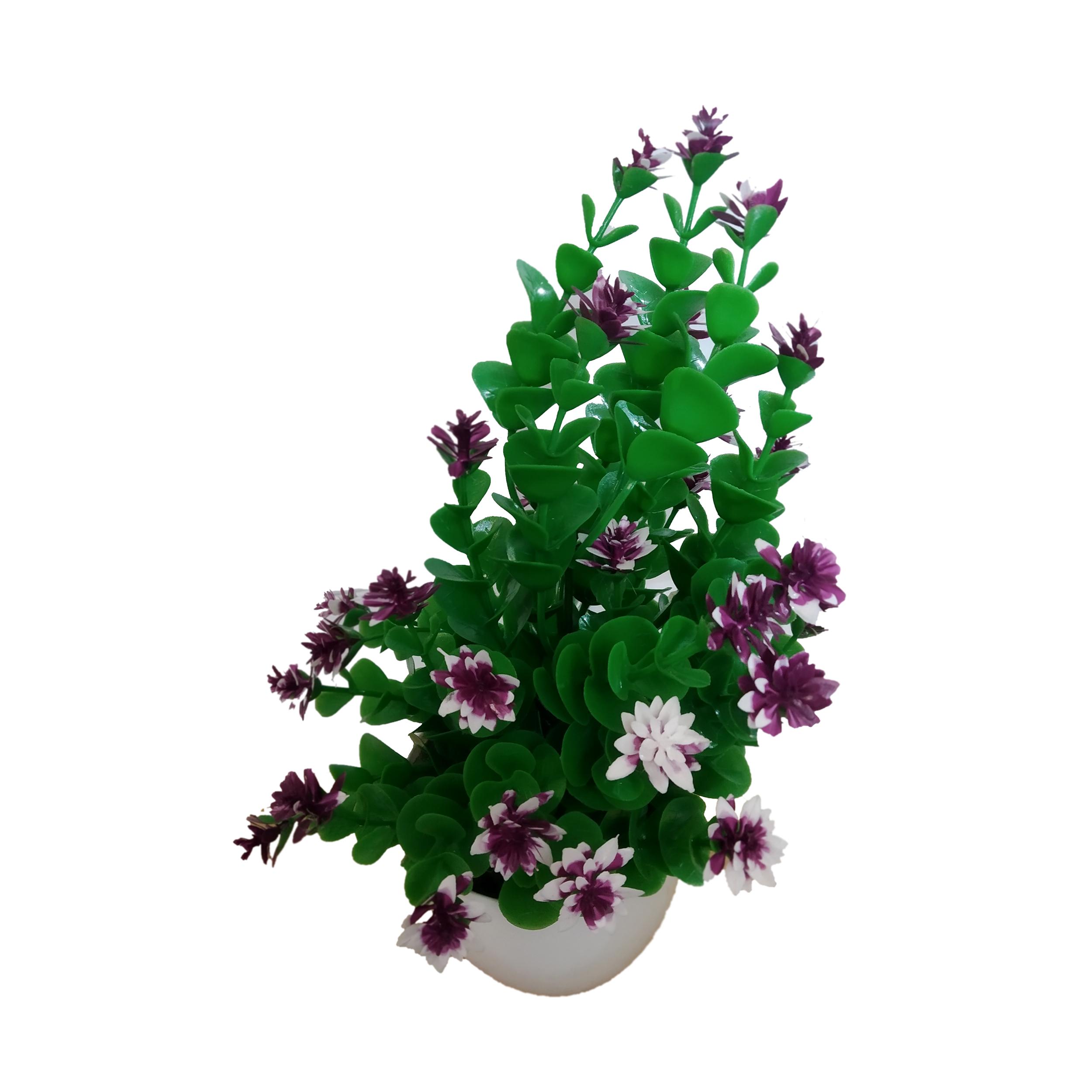 گلدان به همراه گل مصنوعی کد SB78
