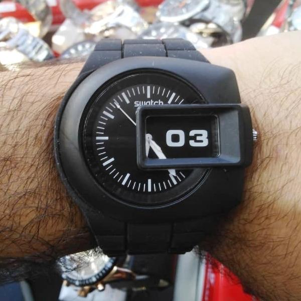 ساعت مچی عقربه ای مدل 123                     غیر اصل