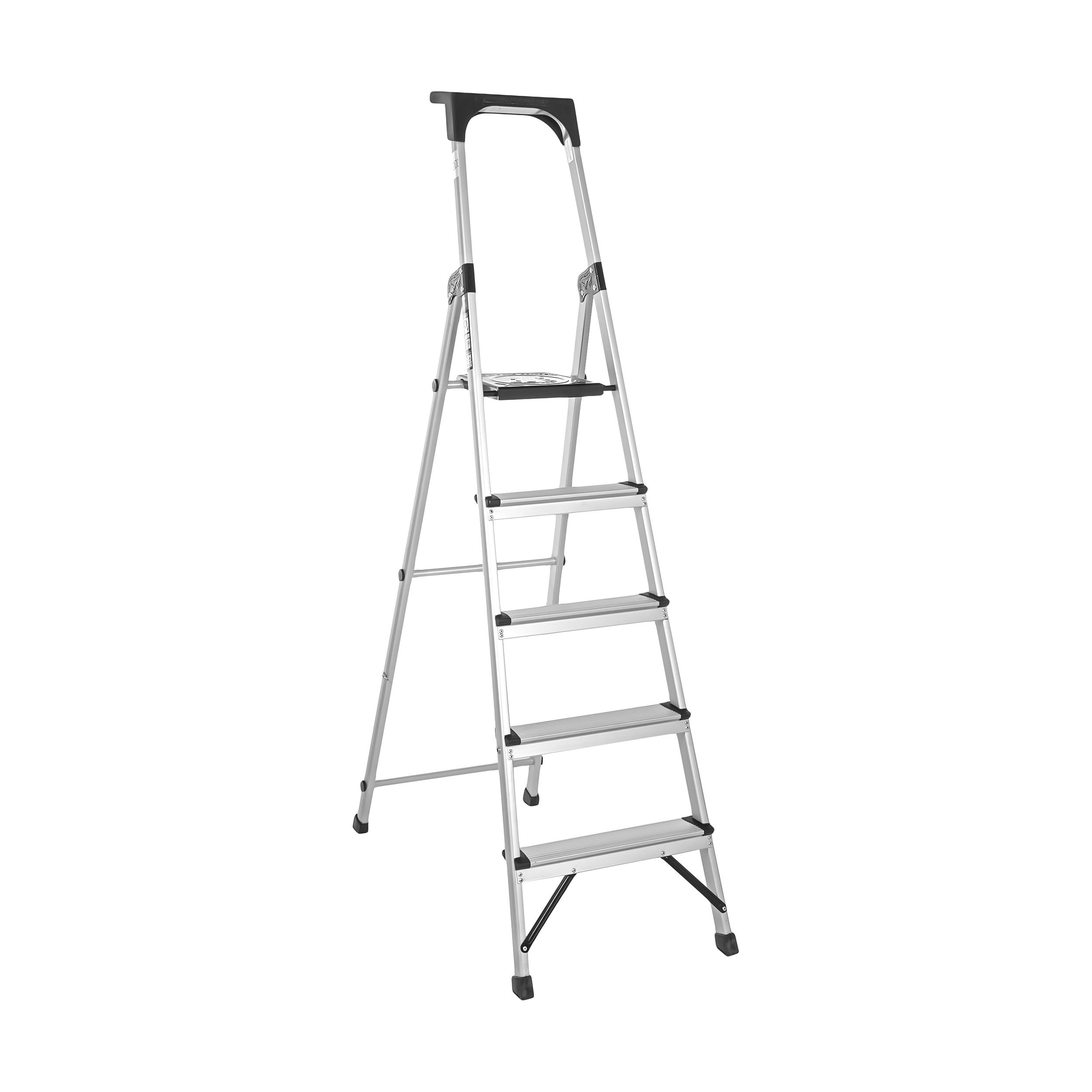 نردبان 5 پله آلوم پارس پله مدل اطلس