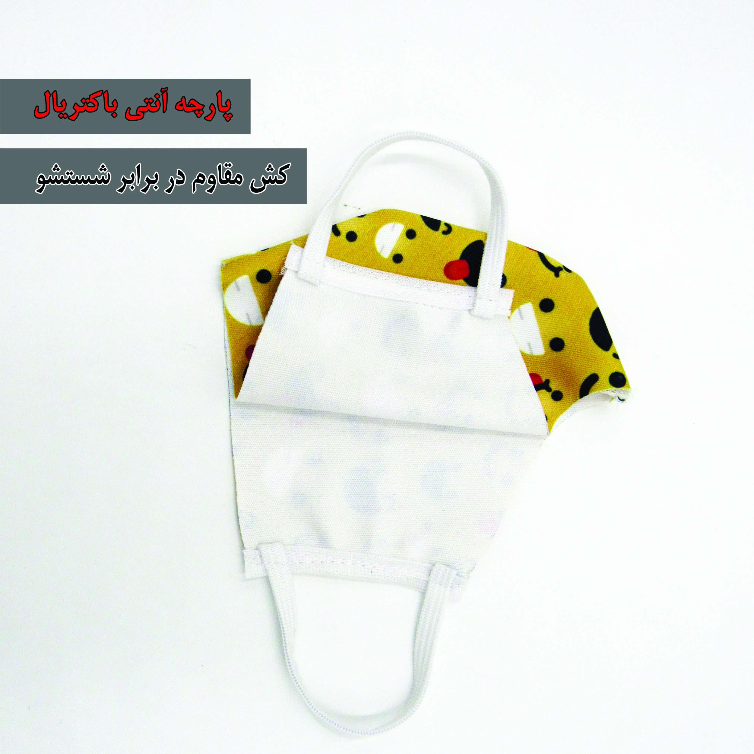 3 pcs kids reusable decorative face mask, model 001