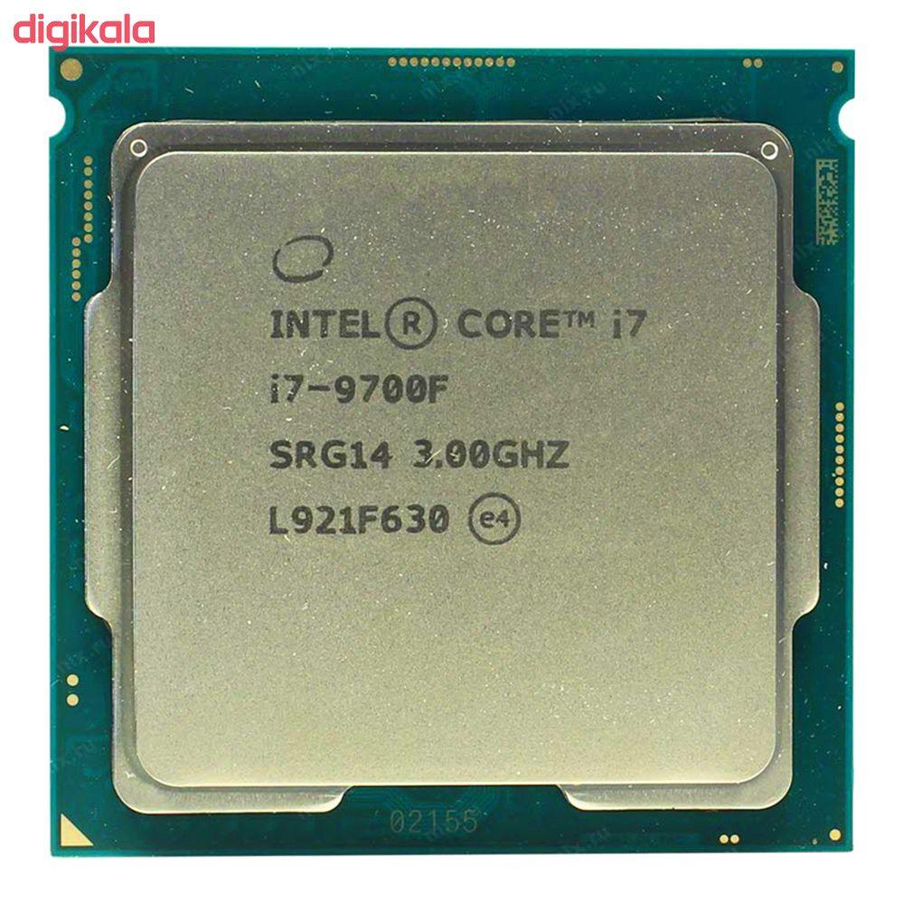 پردازنده مرکزی اینتل سری Coffee Lake مدل Core i7-9700F Tray