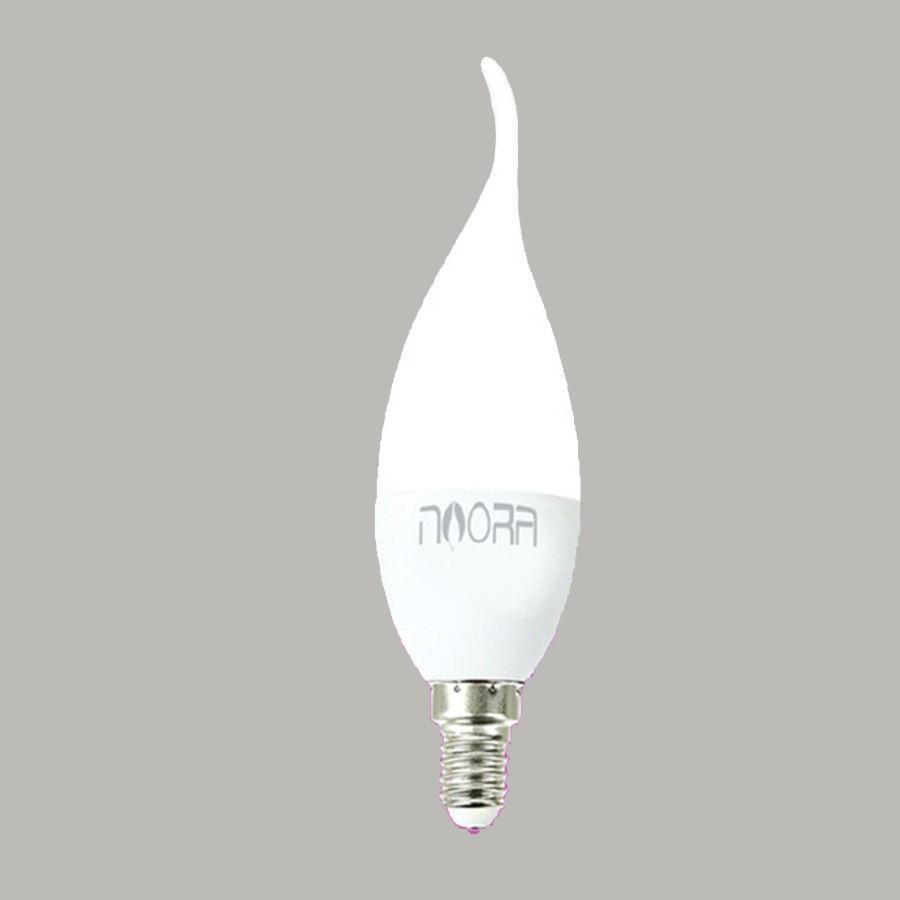 لامپ ال ای دی 7 وات نورا مدل N14A پایه E14 بسته 10 عددی