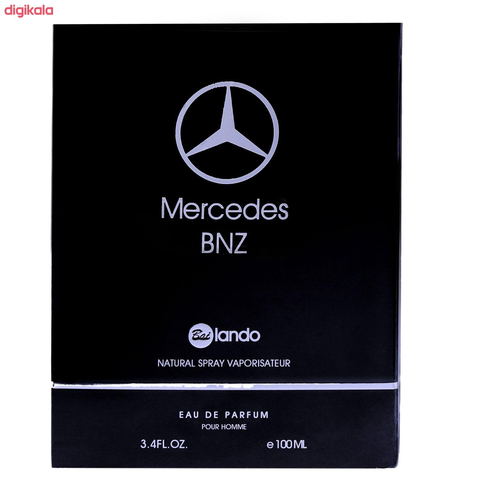 ادو پرفیوم مردانه  بای لندو مدل Mercedes Bnz حجم 100 میلی لیتر main 1 2