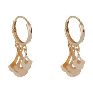 گوشواره طلا 18 عیار زنانه گالری مرجان مدل 0960