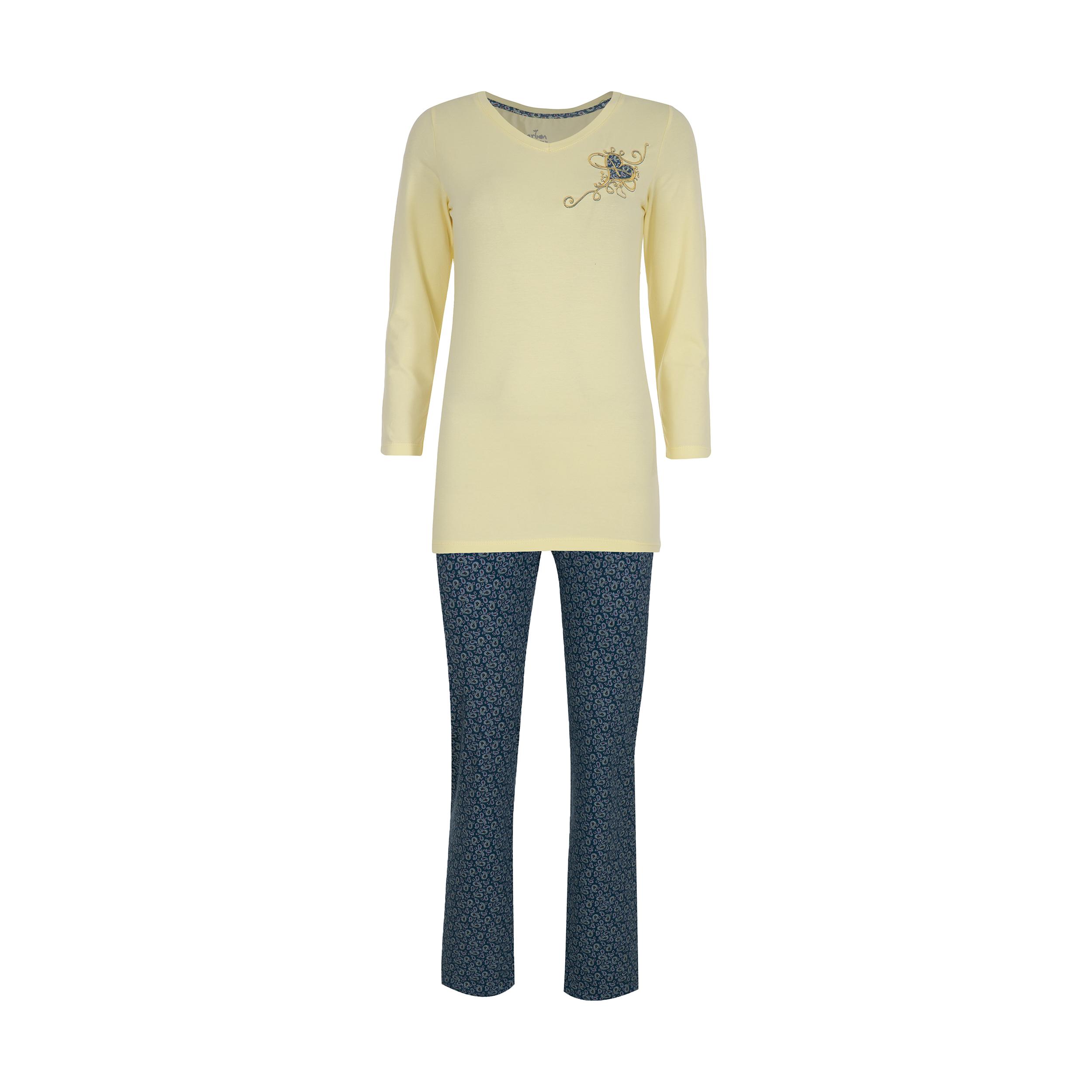 ست تی شرت و شلوار راحتی زنانه ناربن مدل 1521248-19