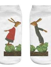 جوراب بچگانه طرح خرگوش کد o44 -  - 1