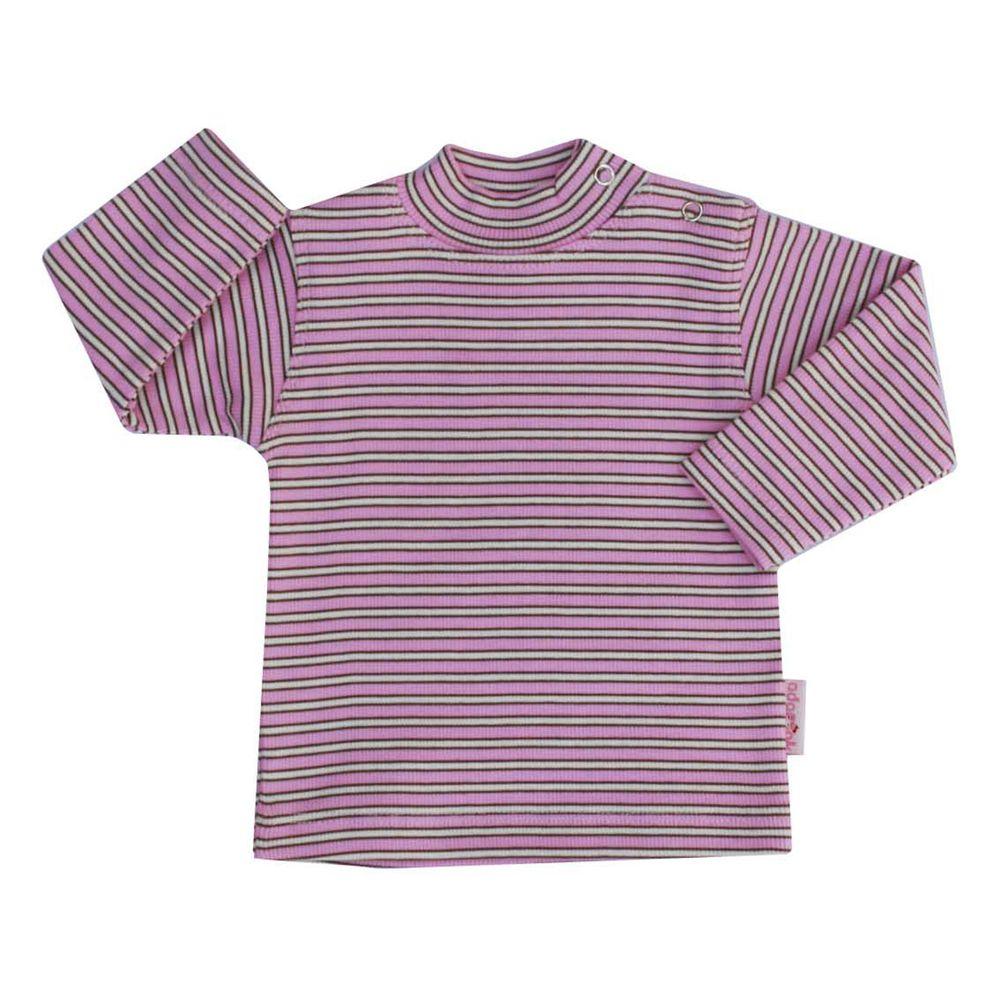 تی شرت دخترانه آدمک طرح راه راه کد 15-1446011