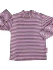 تی شرت دخترانه آدمک طرح راه راه کد 15-1446011 -  - 1