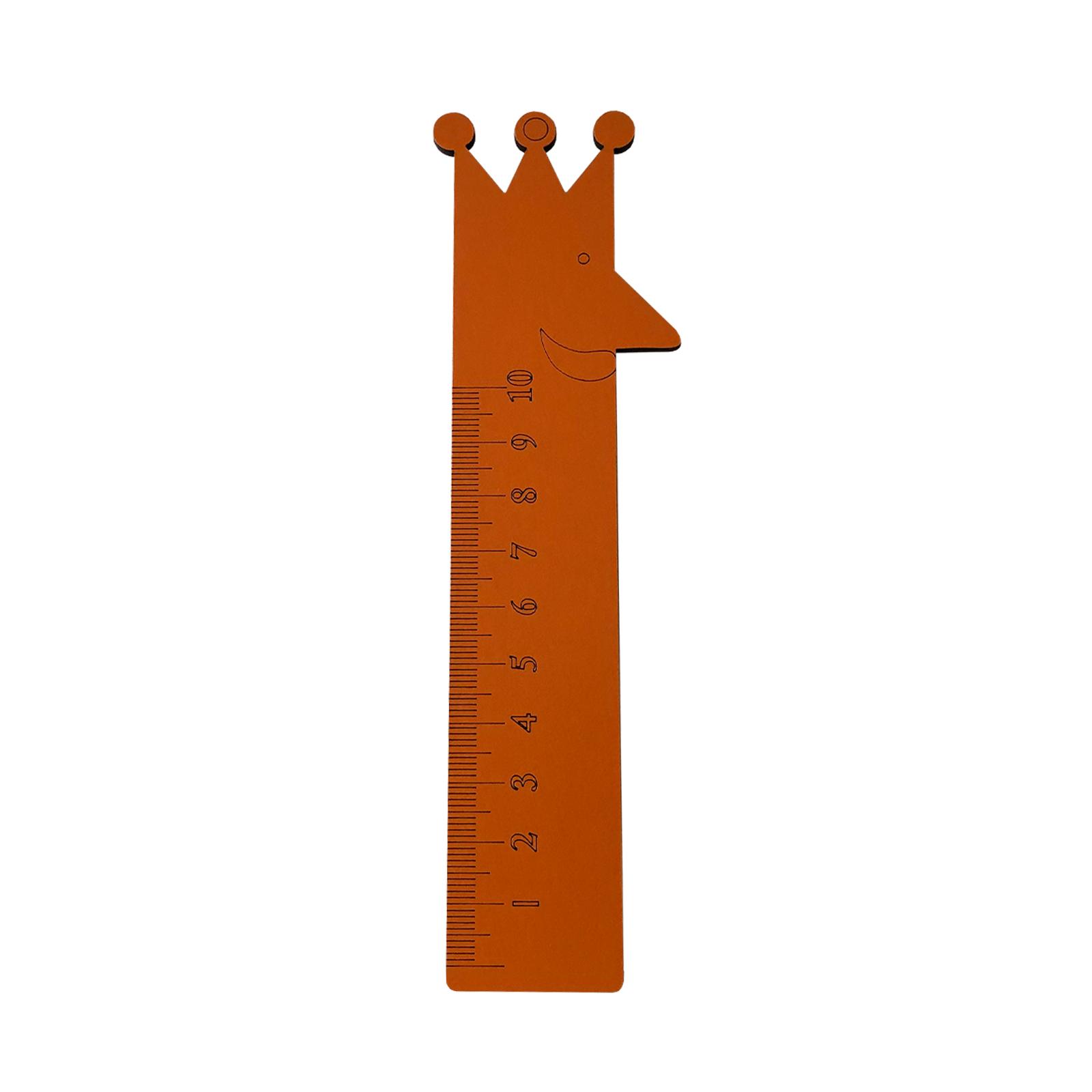 خط کش 10 سانتی متری طرح پادشاه کد kh2