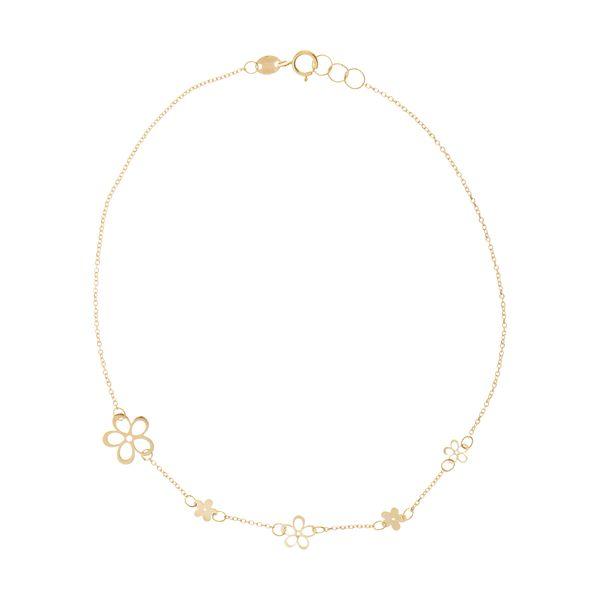پابند طلا زنانه مایا ماهک مدل MA0141