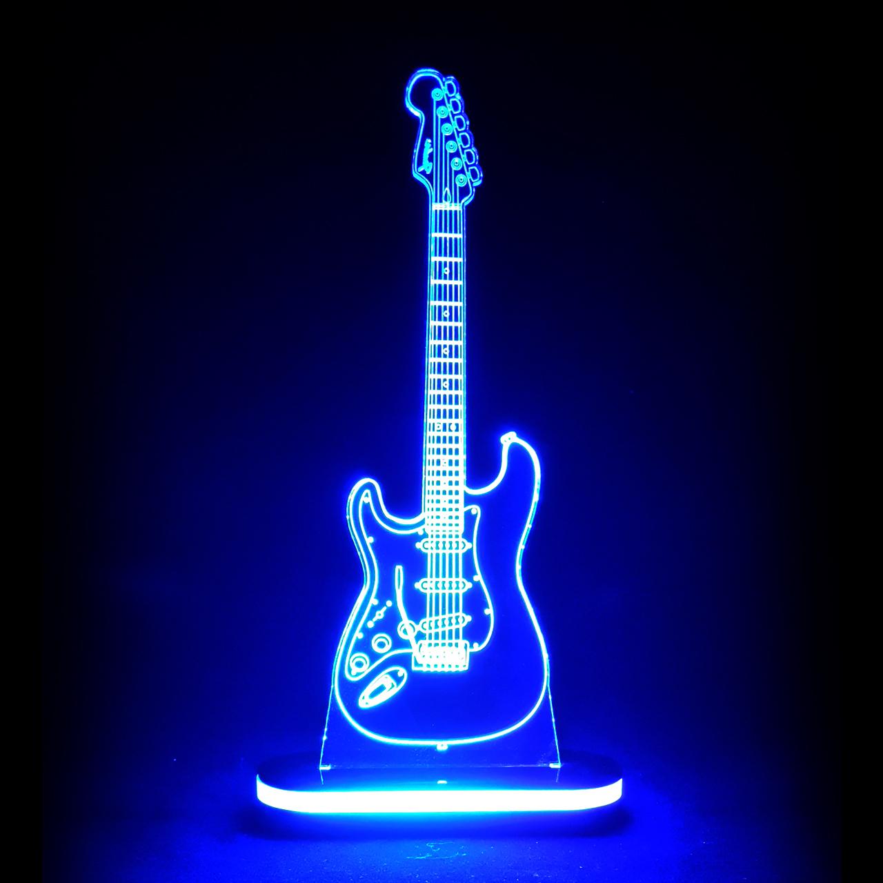 چراغ خواب طرح گیتار کد 1209