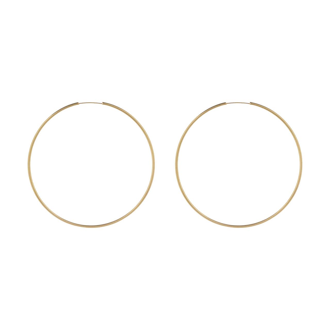 گوشواره طلا 18 عیار زنانه گالری مرجان مدل 0943