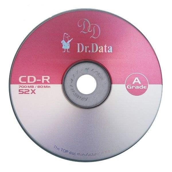 سی دی خام دکتر دیتا مدل D.d بسته 5 عددی