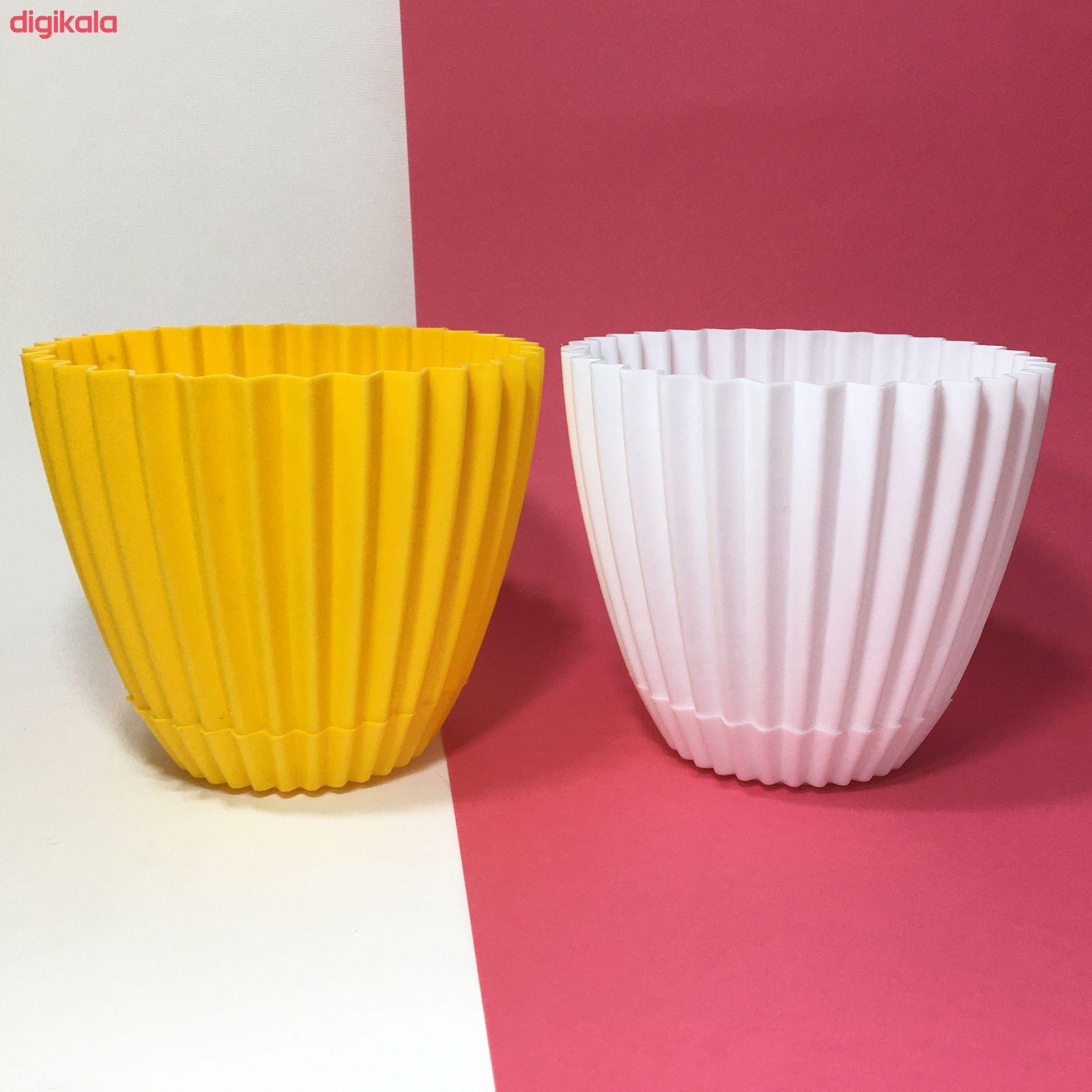 گلدان دانیال پلاستیک کد 210 main 1 4