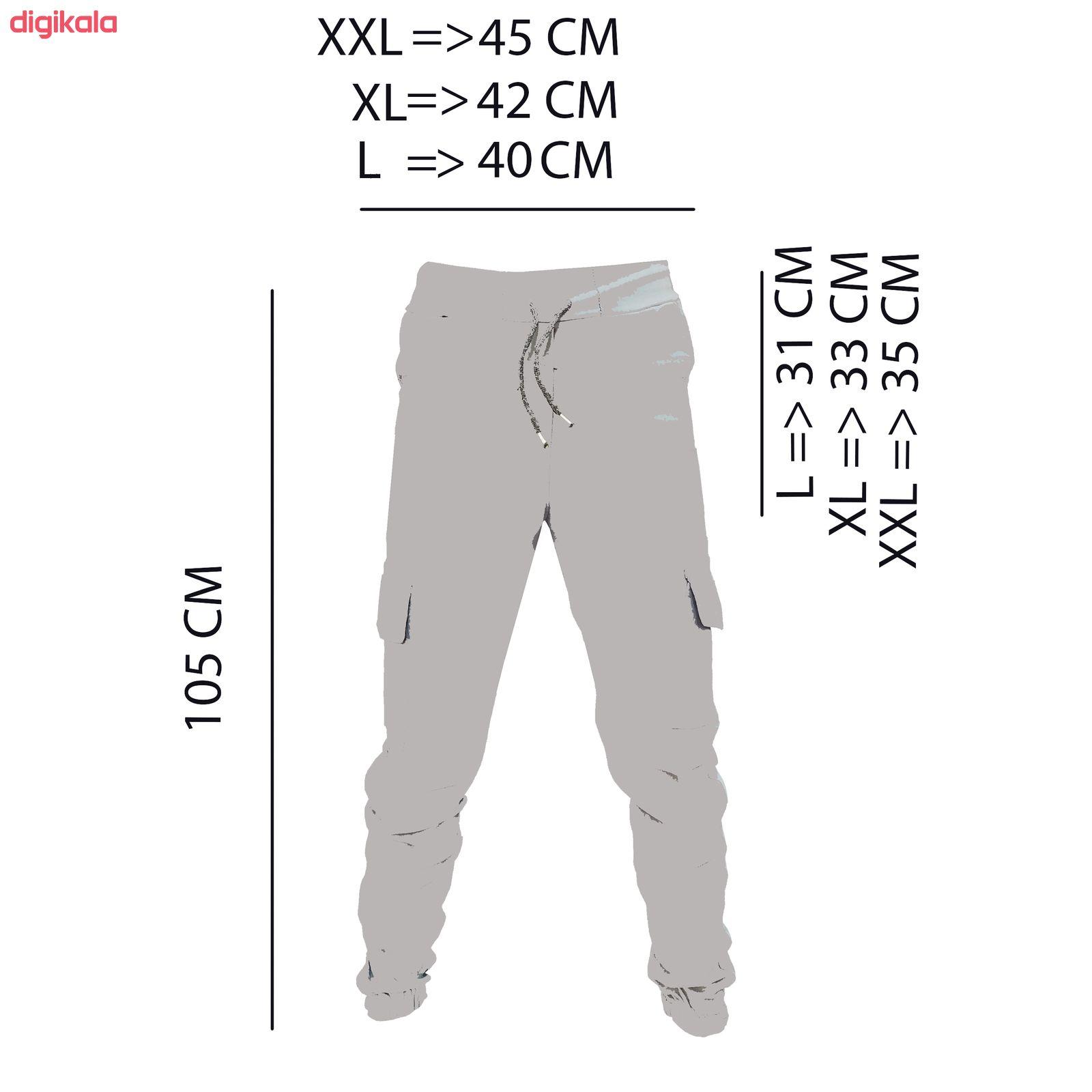 شلوار مردانه کد RR-40634 main 1 4