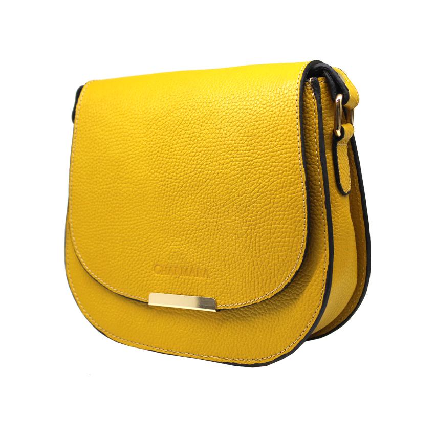 کیف دوشی زنانه چرم آرا مدل d060 -  - 19
