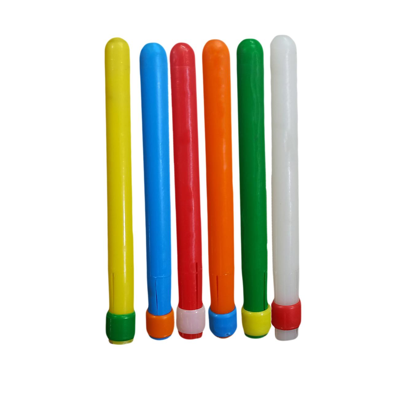 مداد گیر مدل colorful بسته  6 عددی