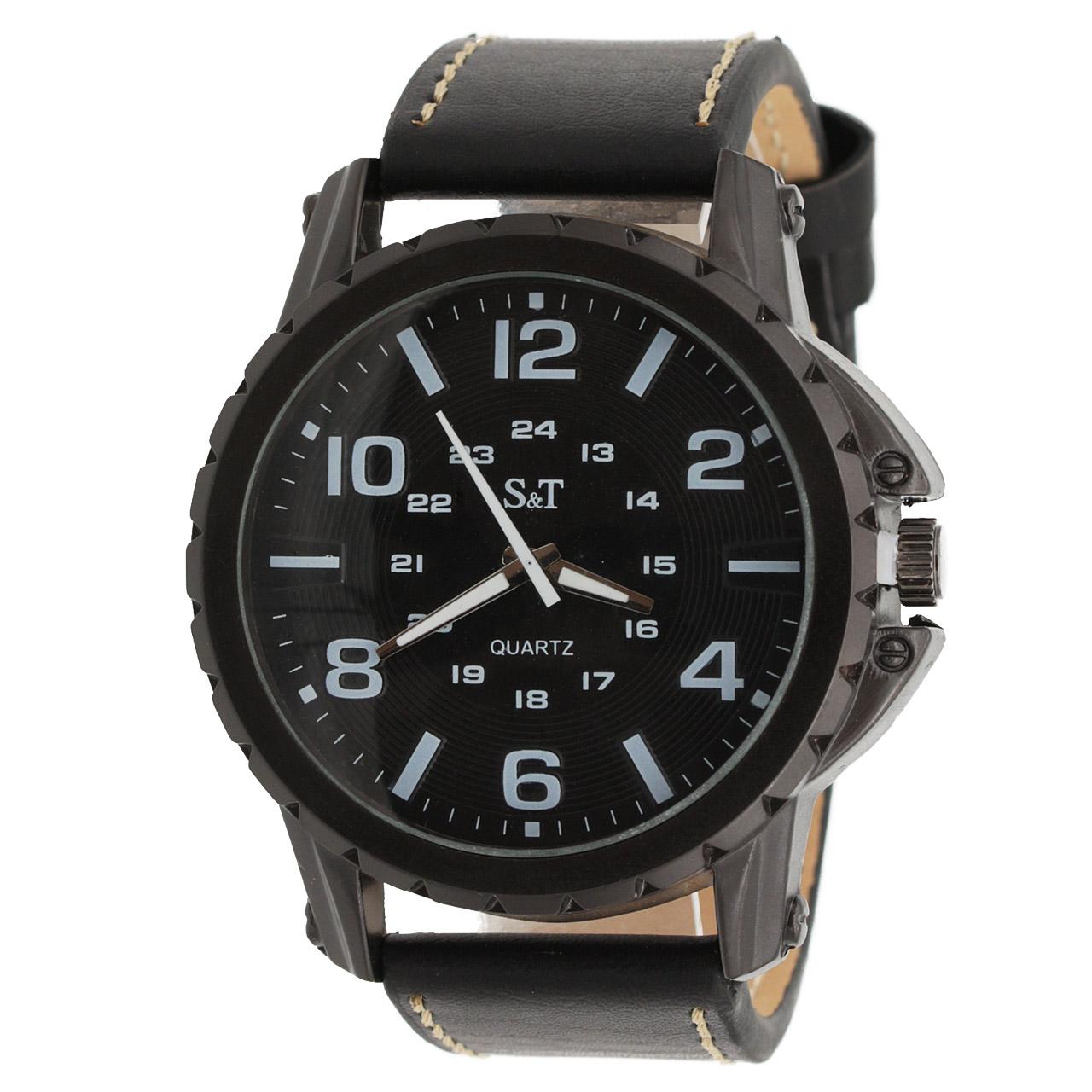 ساعت مچی عقربه ای مردانه اس تی مدل ST1946