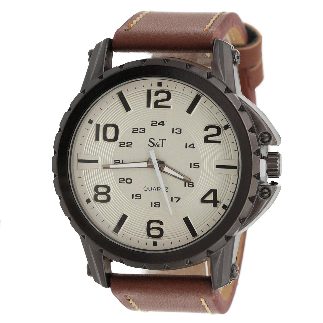 ساعت مچی عقربه ای مردانه اس تی مدل ST1947