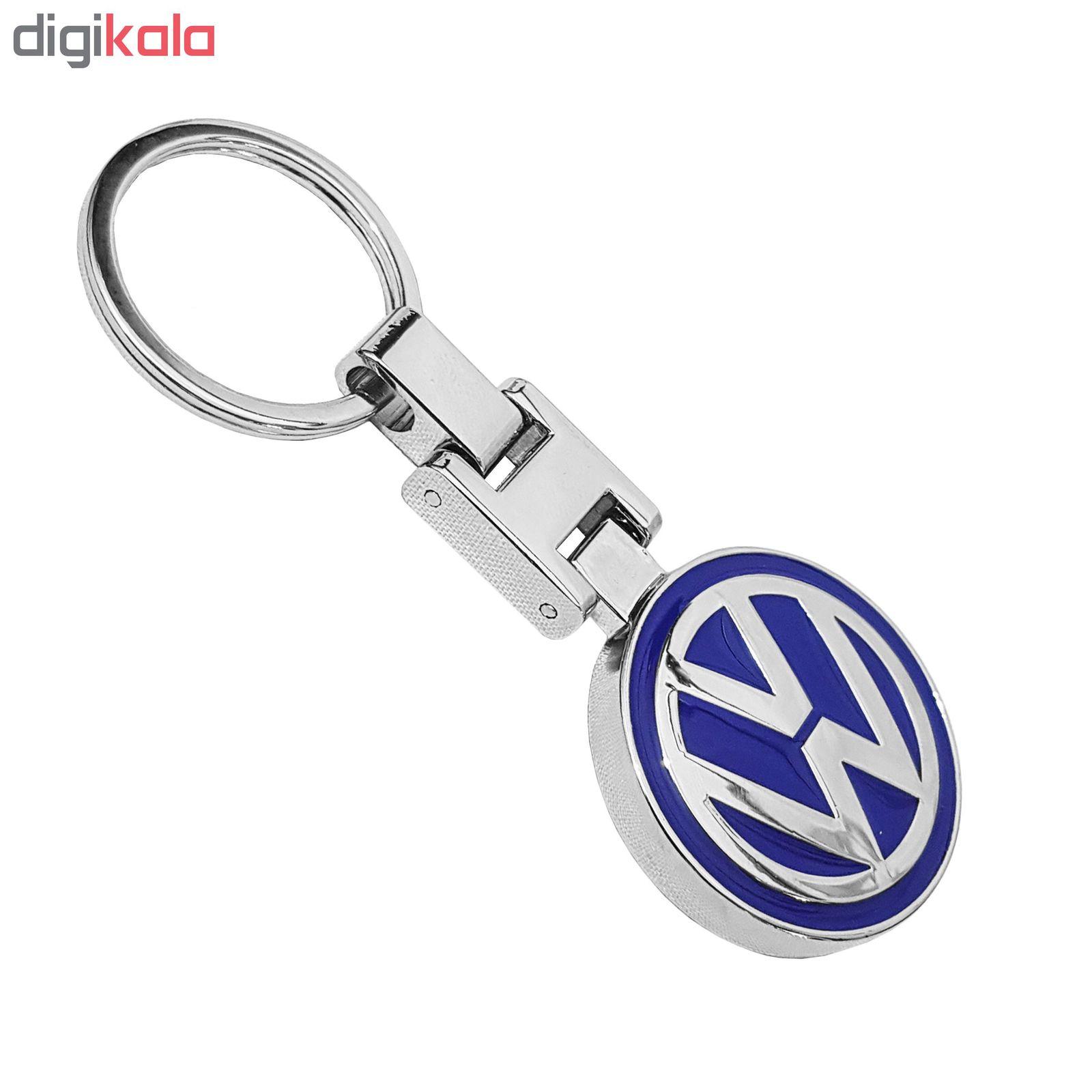 جاسوئیچی استیل اعلا خودرو طرح Volkswagen main 1 1