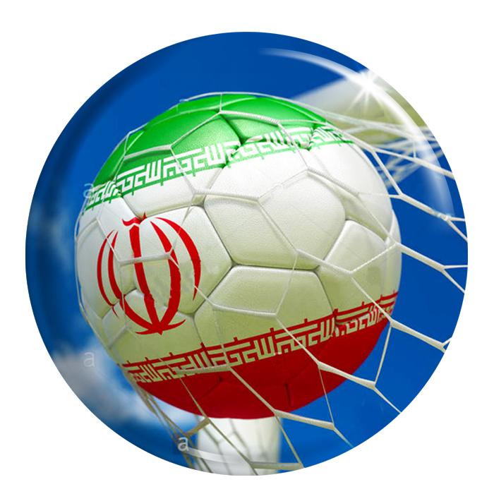 پیکسل  فلوریزا طرح ایران و توپ فوتبال کد 001