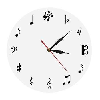 ساعت دیواری دکونوشاپ طرح موسیقی