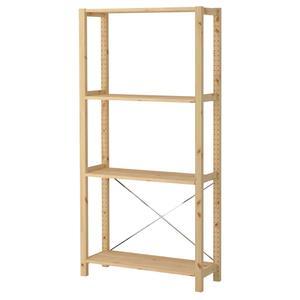قفسه چوبی ایکیا مدل IVAR