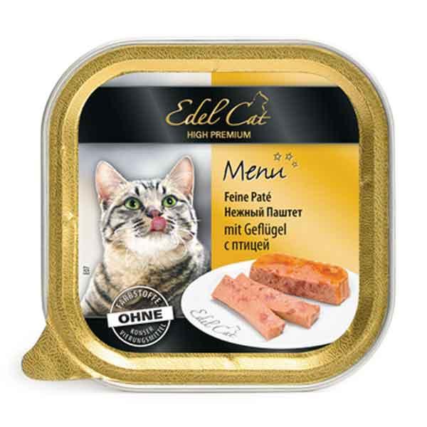 کنسرو ایدل کت گربه مدل Pate حاوی گوشت مرغ مقدار 100 گرم