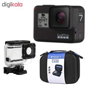 دوربین فیلم برداری ورزشی گوپرو مدل HERO7 Black Quick Stories به همراه لوازم جانبی پلوز  Gopro Hero