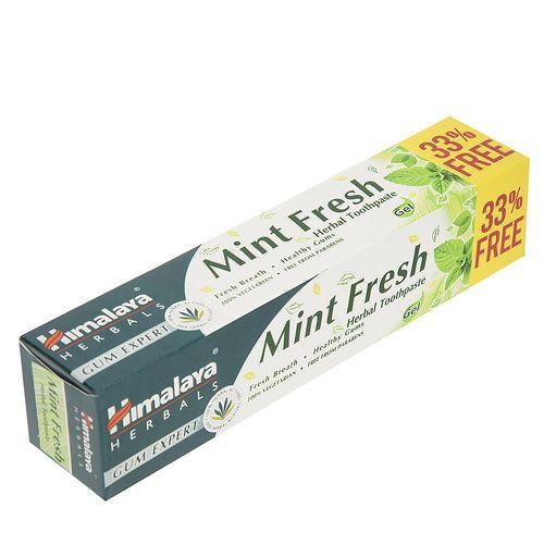 خمیر دندان گیاهی هیمالیا مدل Mint Fresh حجم 100 میلی لیتر