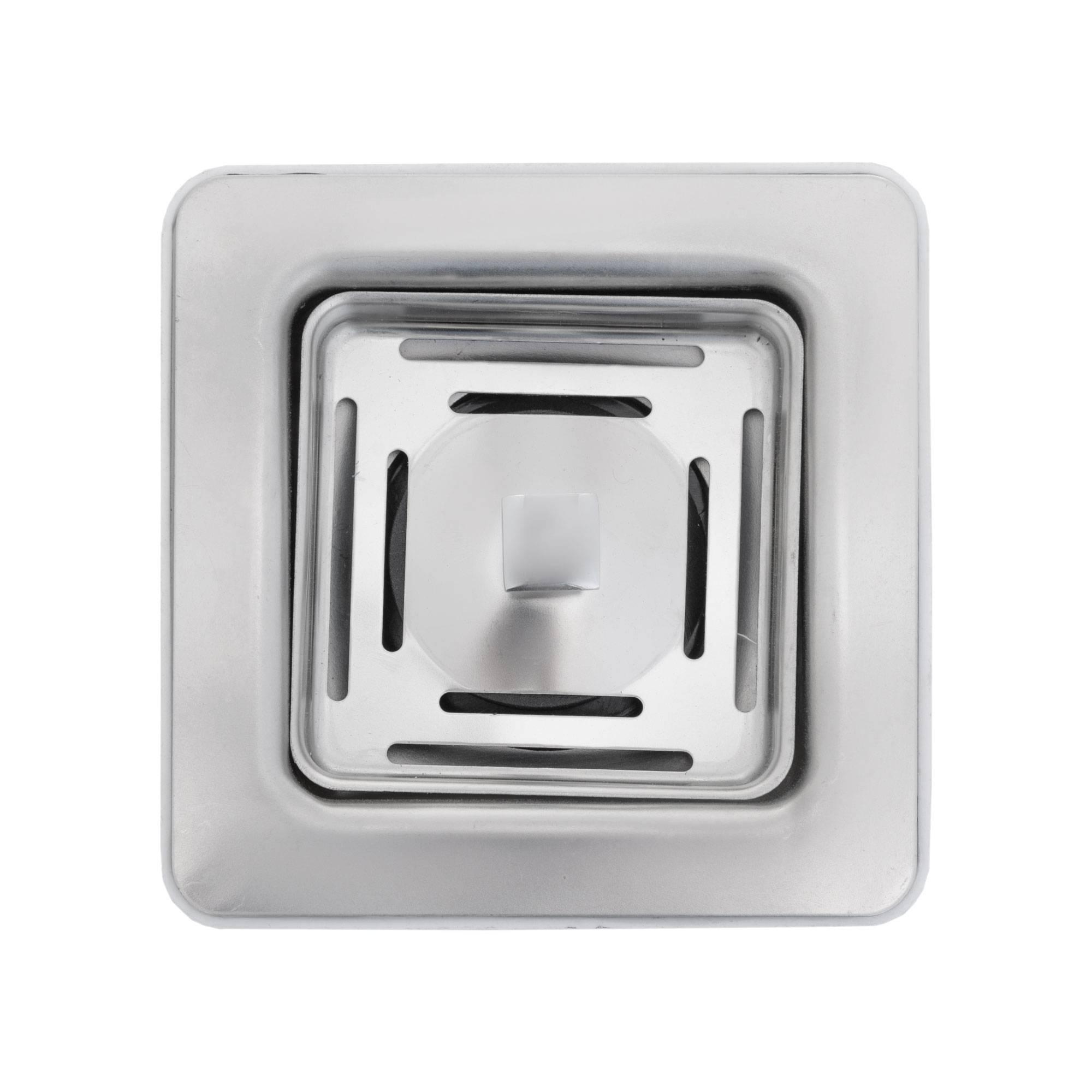 قیمت                                      سیفون ظرفشویی استیل البرز مدل مربع