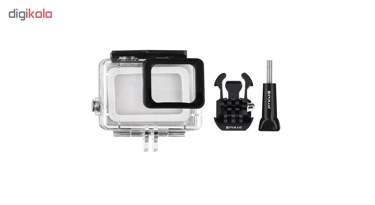 دوربین فیلم برداری ورزشی گوپرو مدل HERO7 Black Quick Stories به همراه لوازم جانبی پلوز  Gopro Hero7 Black Action Camera With Puluz Accessory
